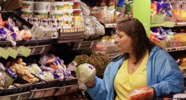 В Киеве овощи стали золотыми