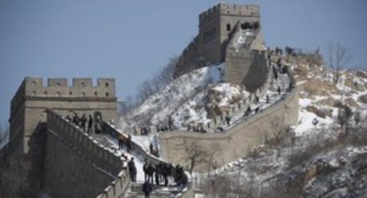 Китай потратит $300 миллионов на реконструкцию участка Великой китайской стены