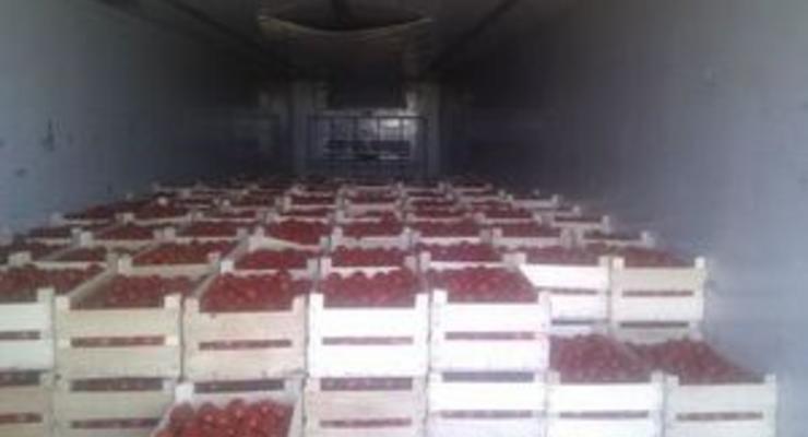 Украинский предприниматель незаконно вывез в Россию овощей и фруктов на 4,5 млн грн
