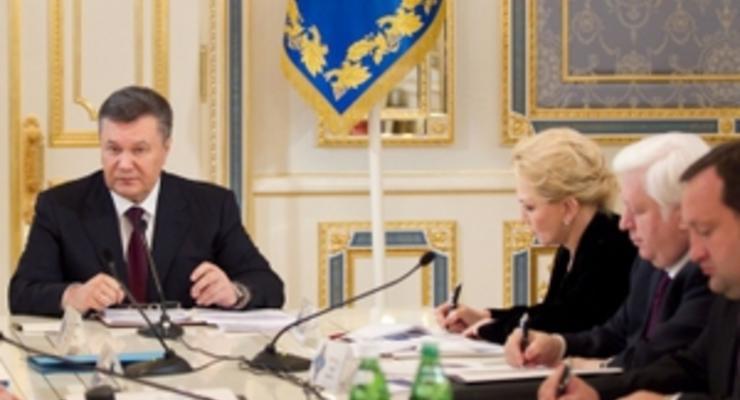 Итоги заседания СНБО: Янукович ищет адекватное решение по цене на российский газ