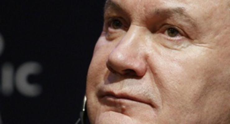 Янукович уверен в создании ЗСТ с ЕС и СНГ уже в 2012 году