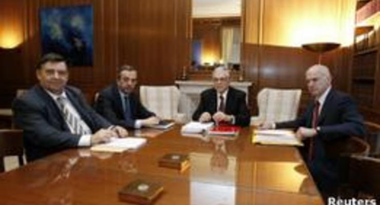 Греция не может договориться о новых сокращениях расходов