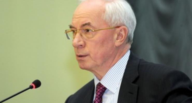 Азаров поручил Кабмину внести изменения в госбюджет-2012 в связи с социальными инициативами Януковича