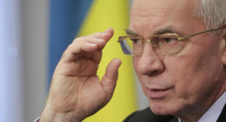 Азаров: Период затягивания поясов в Украине закончился