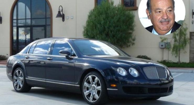На каких авто катаются миллиардеры (ФОТО)