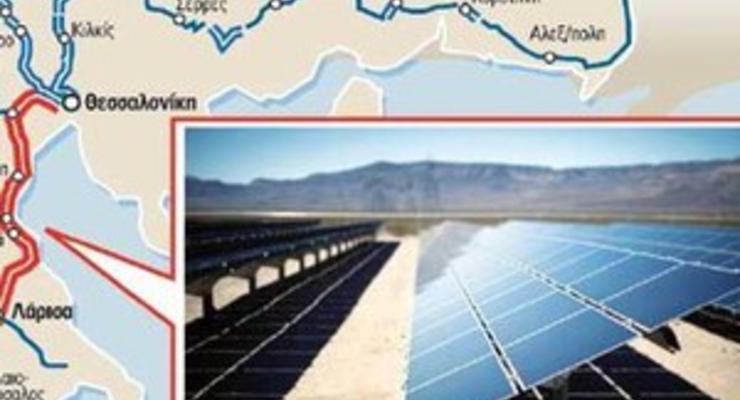 Греция запустит поезда на солнечной тяге