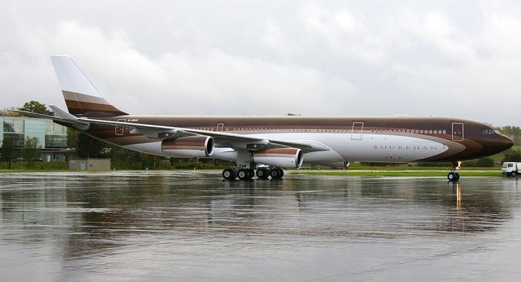 Высший класс: самолет самого богатого человека России (ФОТО)