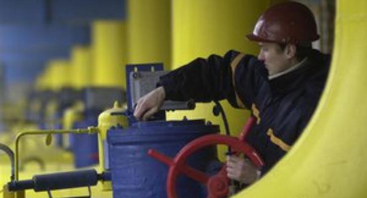 Россия снизила добычу газа в 2012 году
