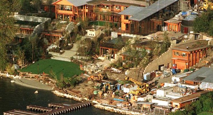 Дворцы-острова: Где живут айтишники-миллиардеры (ФОТО)