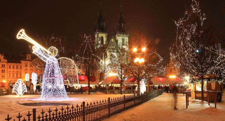 Новый год 2013 в Праге: сколько стоит чешская сказка