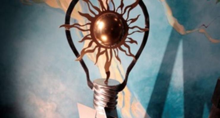 В Киеве состоялась презентация памятника современной лампочке