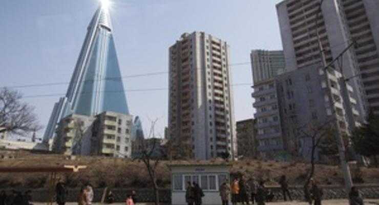 Отелем-небоскребом в Пхеньяне будут управлять немцы