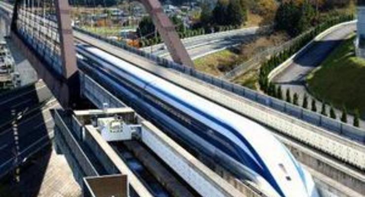 Без рельс и колес: японцы представили электромагнитный поезд нового поколения