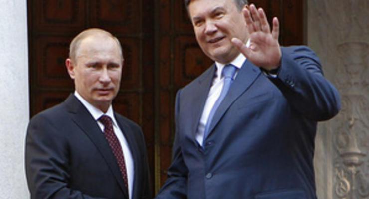 Высокие цены на газ: Янукович угрожает России потерей рынка