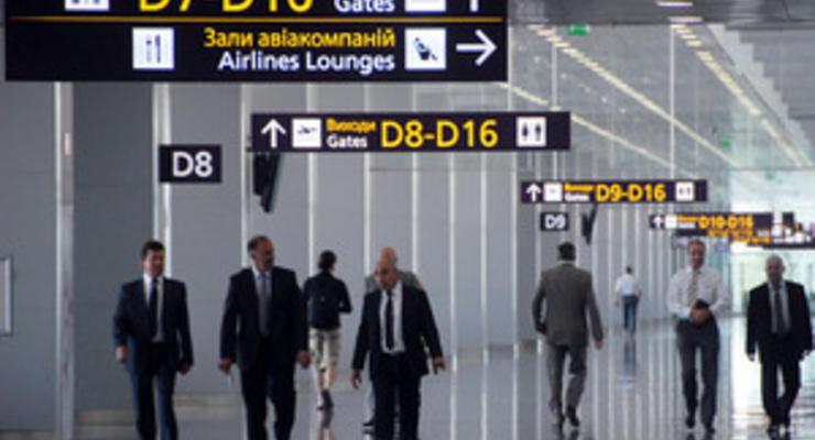 У аэропорта Борисполь недостаточно средств для обслуживания всех терминалов - Ъ