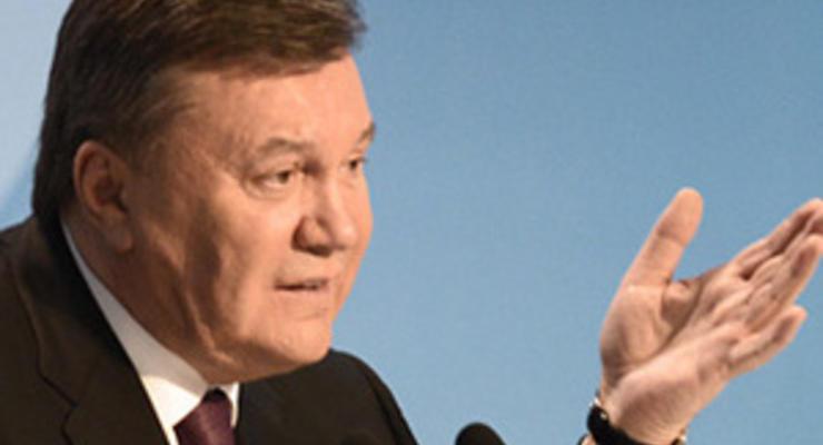 Янукович рассказал о провале реформ, обозначив ответственных и виноватых