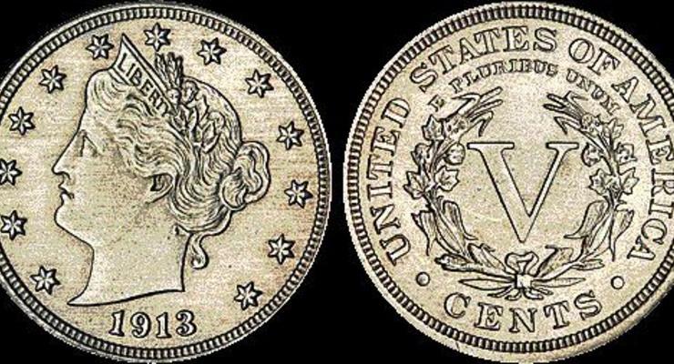 Монету в 5 центов продали за $3 миллиона (ФОТО)
