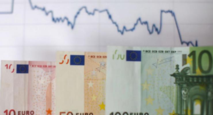 Еврозона побила исторический рекорд по торможению кредитования