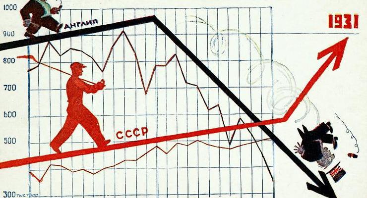 Как мы обгоняли Запад: Советская экономика в картинках