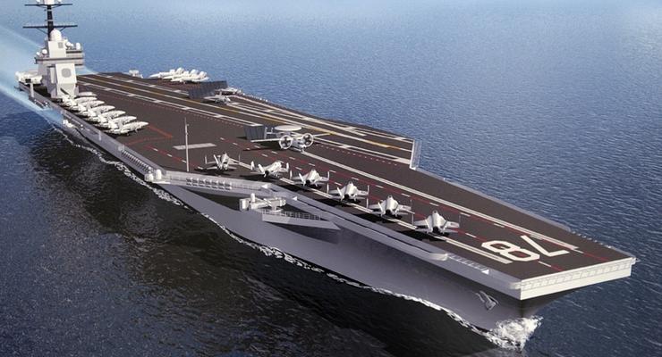 США построили новейший атомный авианосец стоимостью $13 млрд