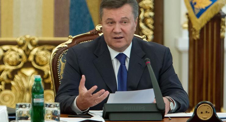 Янукович: Украина не имеет средств для модернизации предприятий под стандарты ЕС