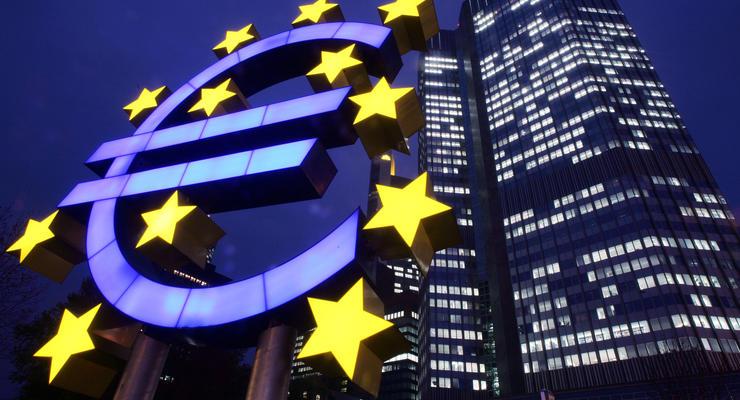 Инфляция в еврозоне снизилась до минимума четырех лет