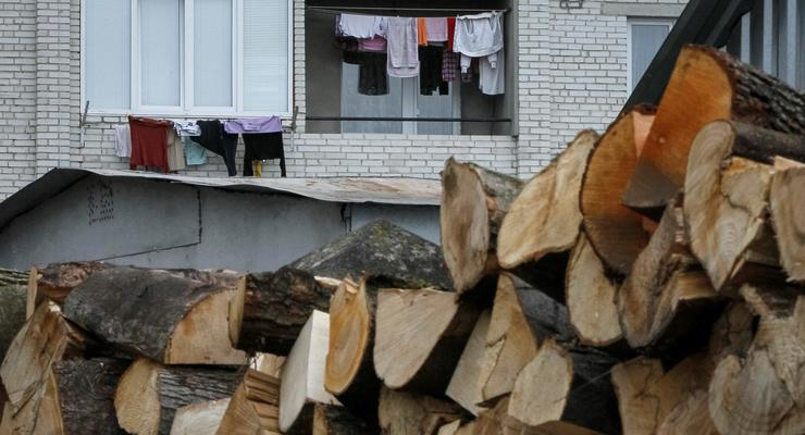 Дрова вместо газа. Фоторепортаж из первого энергетически независимого города на западе Украины