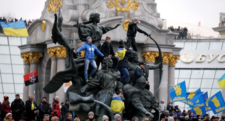 Евромайдан не повлиял на уровень преступности в Киеве – МВД