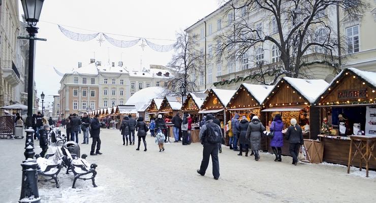 Новый год 2014 во Львове