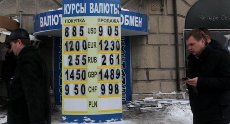 Курсы наличных валют на 12 февраля