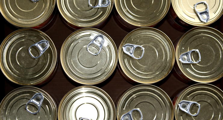 В Россию не пусти 100 тонн украинских консерв