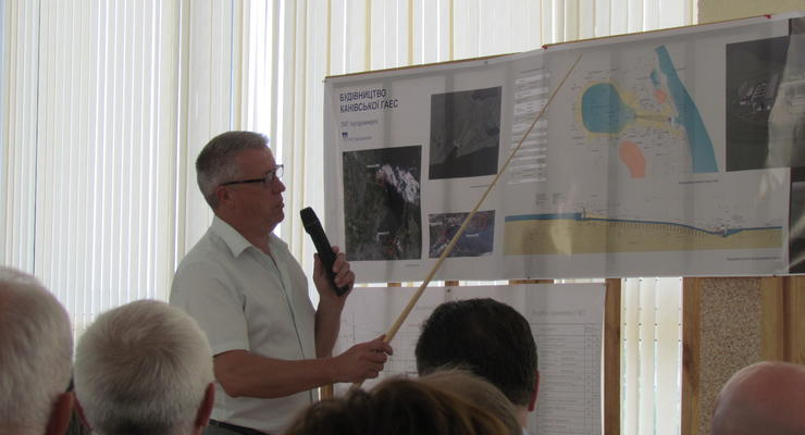 В Каневе планируют возобновить сооружение гидроаккумулирующей электростанции