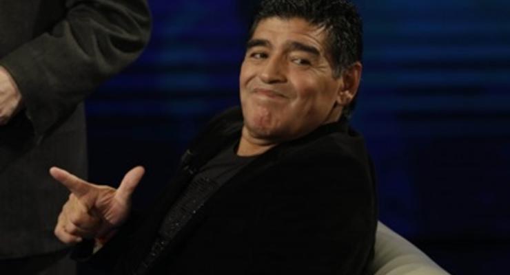 "Марадона назвал Пеле ""идиотом"""