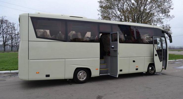 Нацгвардия закупила люксовые автобусы с кондиционерами