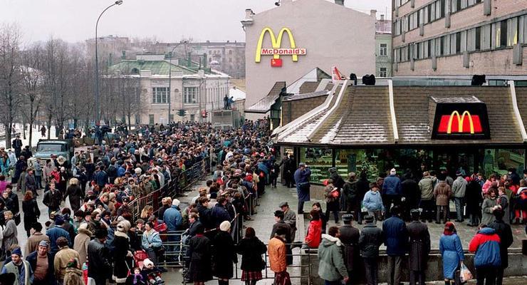 В Москве прекратили работать четыре ресторана McDonald`s из-за проверок