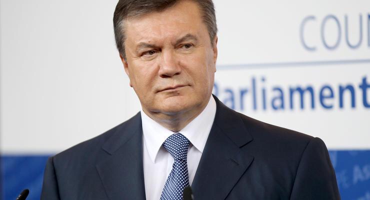 Швейцария заблокировала активы, связанные с Януковичем