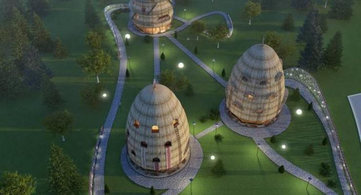 Эко-отель львовянина в виде стогов сена победил на всеукраинском конкурсе дизайнеров