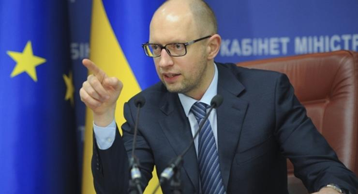 Яценюк поручил проверить НАК Надра Украины