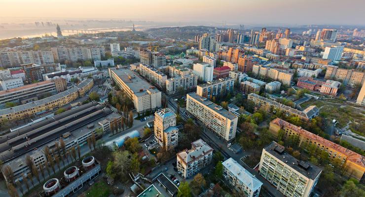 Рынок жилья в Киеве опустился до уровня кризисного 2009 года