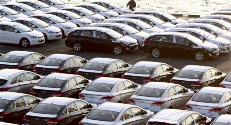 Производство авто в Украине сократилось на 82%