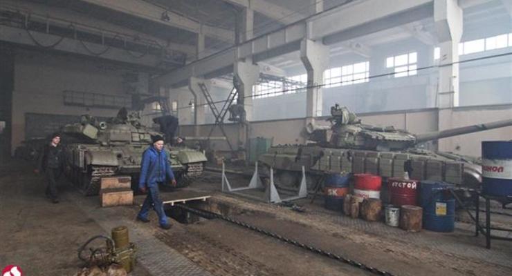 Бронетанковый завод отремонтировал техники на 164 млн грн
