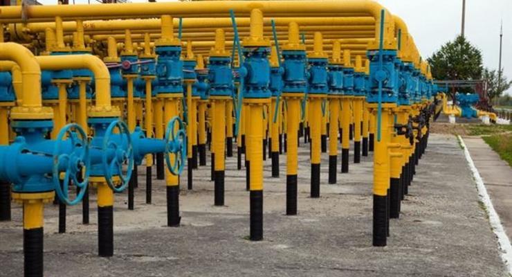 В украинских ПХГ накоплено на 2% больше газа, чем в прошлом году