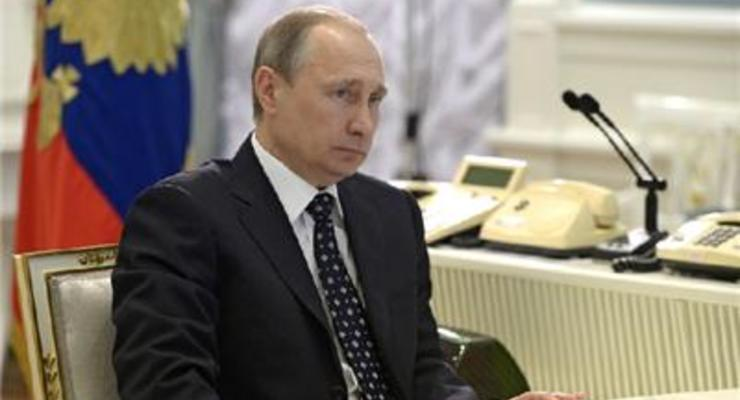 Путин обеспокоен падением курса рубля