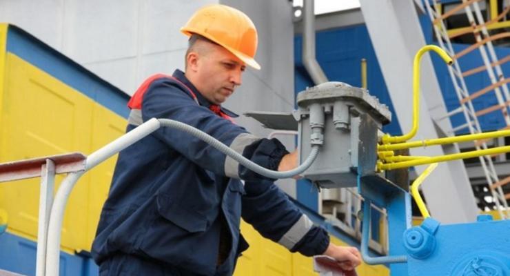 Украина в декабре импортировала из Европы 400 млн кубов газа