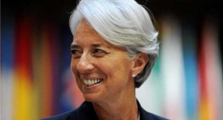 Главу МВФ Кристин Лагард выдвинули на второй срок