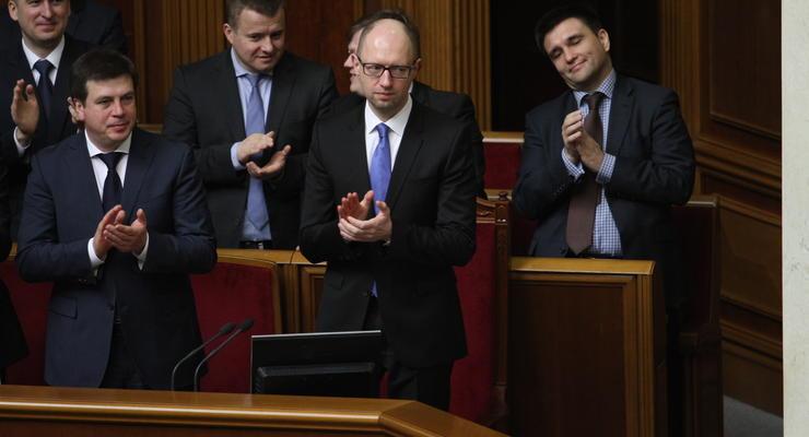 СМИ узнали зарплату Яценюка и других министров