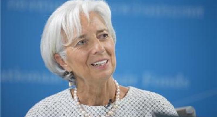 Кристин Лагард переизбрана главой МВФ на второй срок