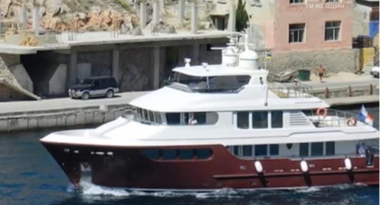 У берегов Турции заметили шикарную яхту Януковича - СМИ