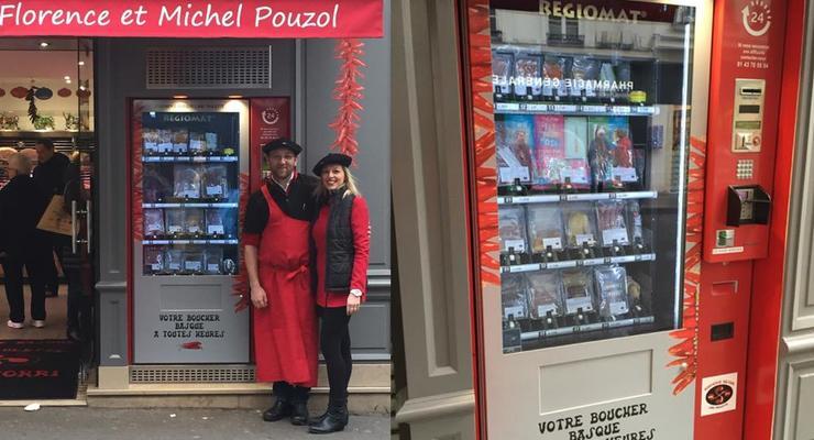 В Париже появился автомат, торгующий мясом