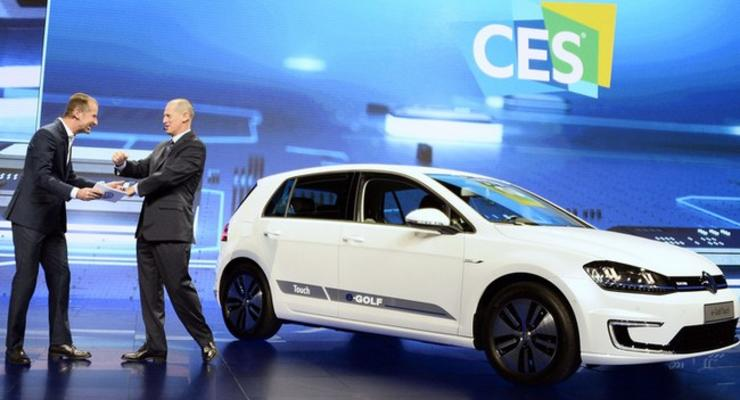 Volkswagen отзывает в США около 5,6 тысяч электрокаров e-Golf